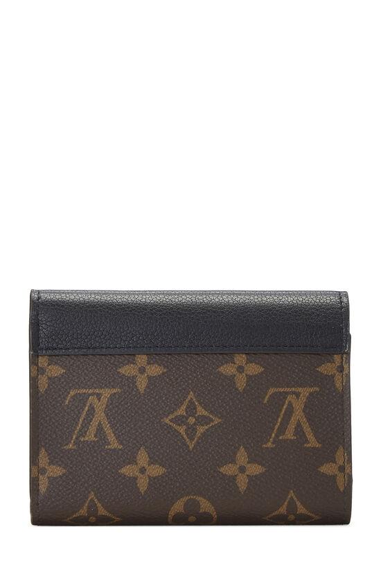 Black Monogram Canvas Pallas Compact Wallet NM, , large image number 2