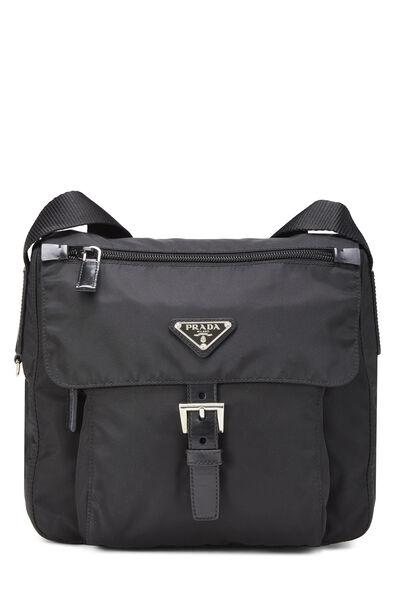 Black Vela Shoulder Bag
