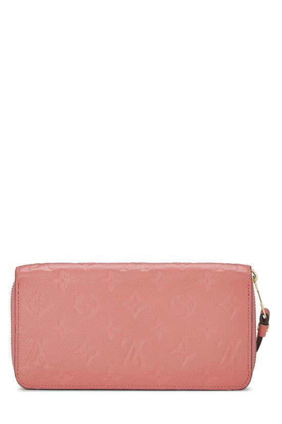 Pink Empreinte Zippy Continental Wallet, , large image number 2