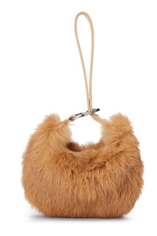Brown Fur Wristlet, , large image number 3