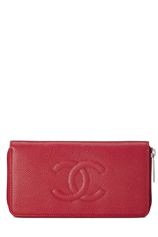 Red Caviar Timeless 'CC' Wallet, , large image number 0