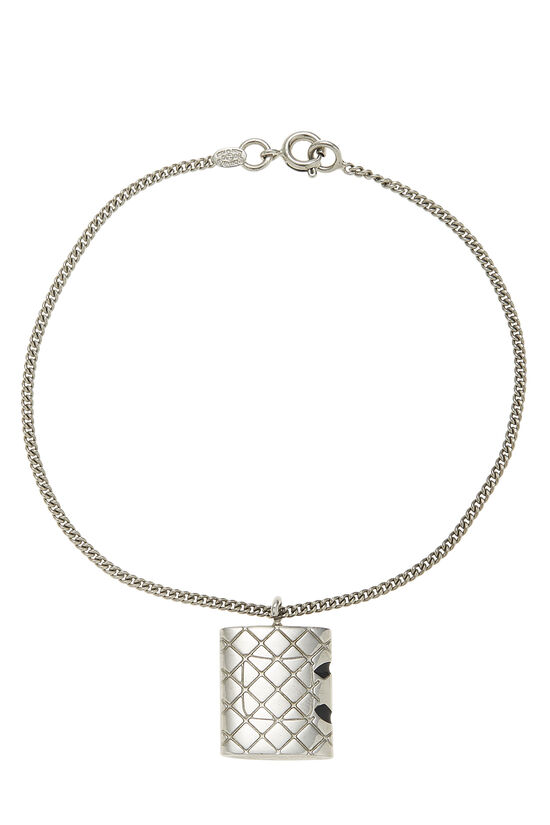 Silver Quilted Cambon Bracelet, , large image number 1