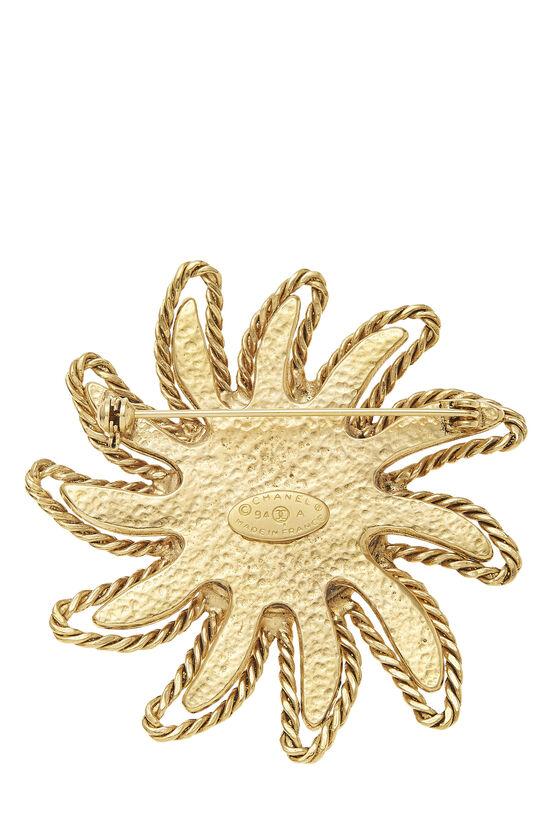 Gold 'CC' Sun Pin, , large image number 1