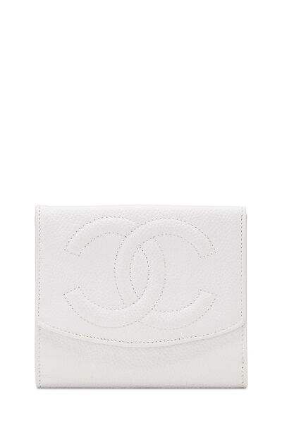 White Caviar 'CC' Timeless Compact Wallet