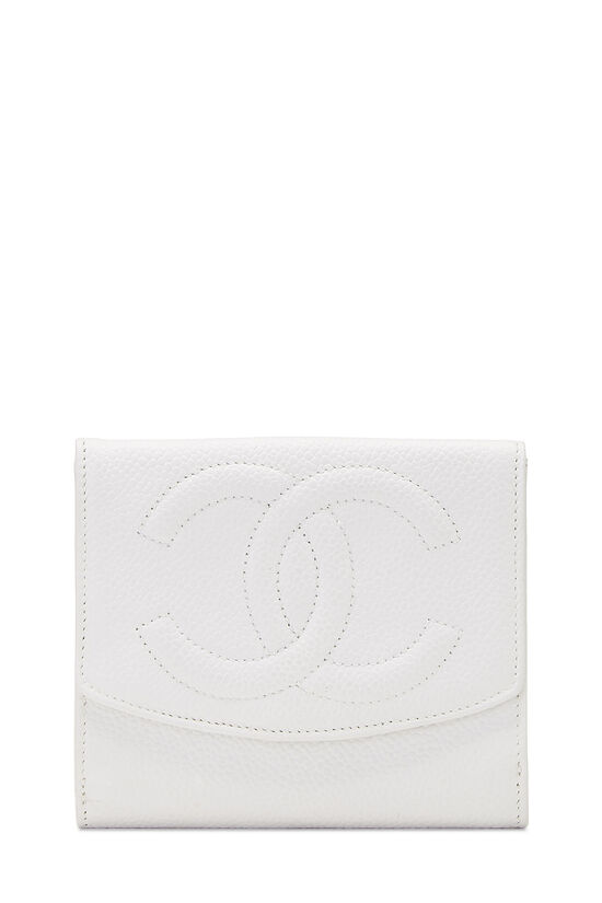 White Caviar 'CC' Timeless Compact Wallet, , large image number 0