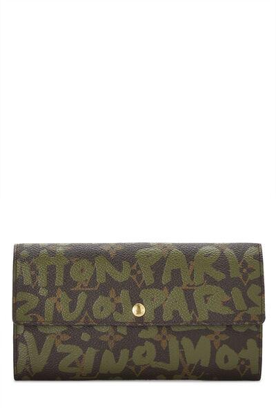 Stephen Sprouse x Louis Vuitton Green Monogram Graffiti Sarah