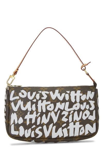 Stephen Sprouse x Louis Vuitton Grey Monogram Graffiti Pochette Accessoires