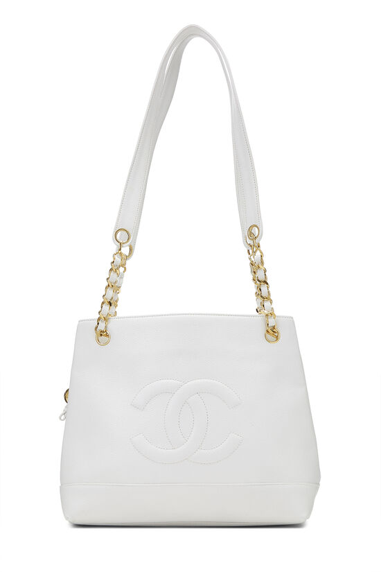 White Caviar Zip Tote, , large image number 0