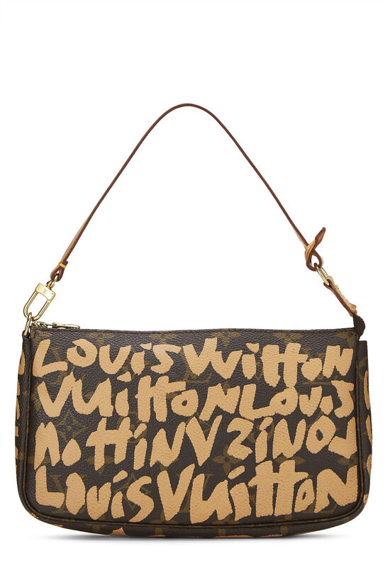 Stephen Sprouse x Louis Vuitton Beige Monogram Graffiti Pochette Accessoires, , large image number 0