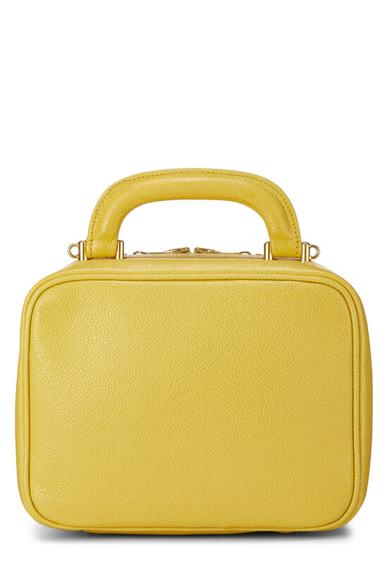 Yellow Caviar Lunch Box Vanity, , large image number 4
