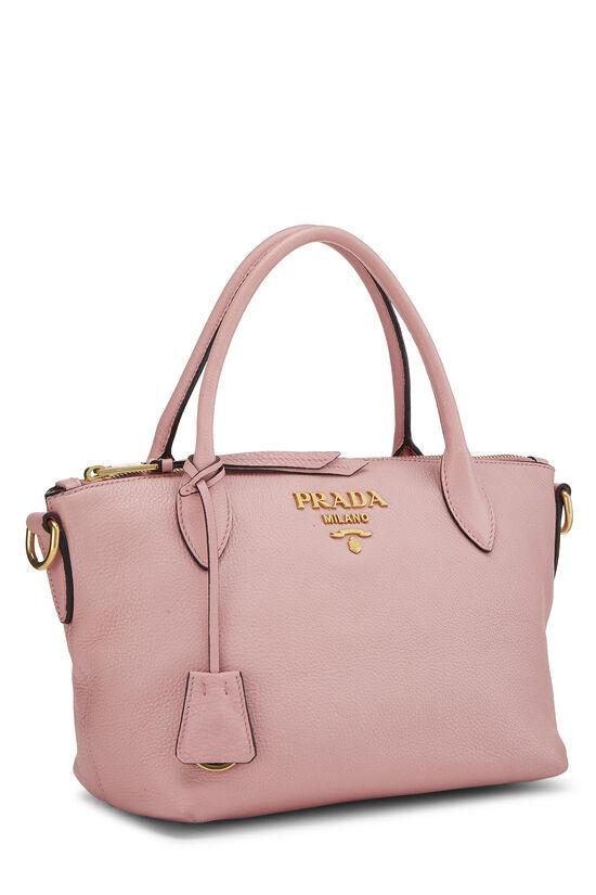 Pink Vitello Daino Handbag Small, , large image number 1