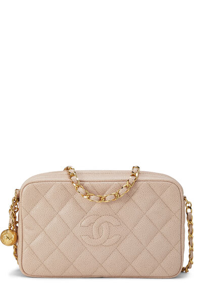 Pink Caviar Diamond 'CC' Camera Bag Mini