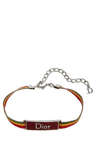 Multicolor Rasta Ribbon Bracelet