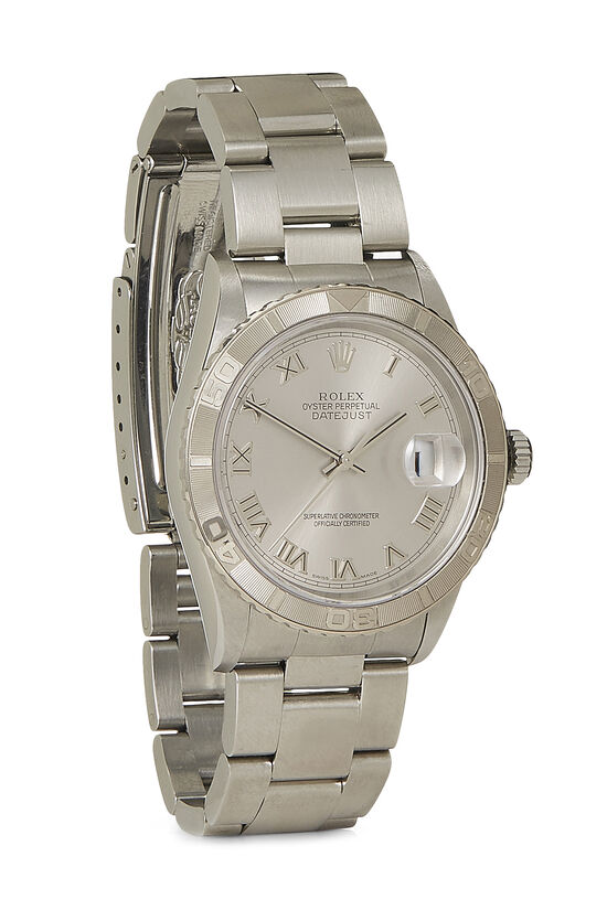 Stainless Steel Datejust Turn-O-Graph 16264 36mm, , large image number 0