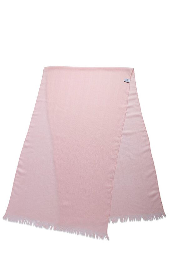 Pink Cashmere & Silk Stole, , large image number 1