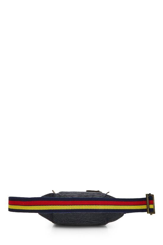 Blue Denim Belt Bag, , large image number 3