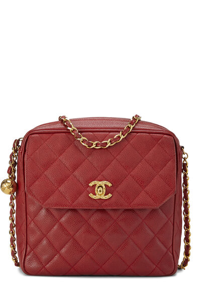 Redr Quilted Caviar Tall Camera Bag Small