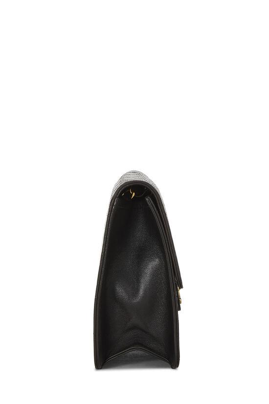 Black Quilted Lambskin Ex Flap Medium, , large image number 3