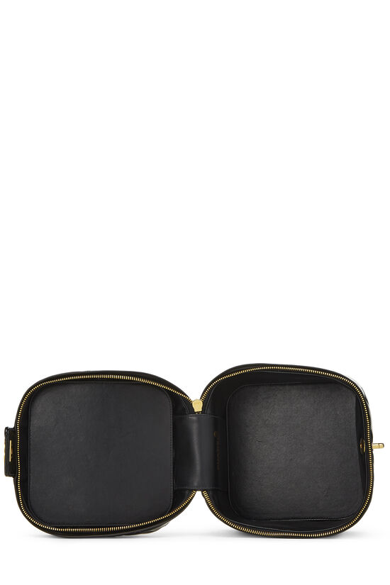 Black Quilted Patent Leather Vanity, , large image number 5