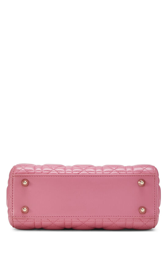 Pink Cannage Quilted Lambskin Lady Dior Small, , large image number 4