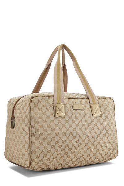 Original GG Canvas Carry On Duffle Large, , large