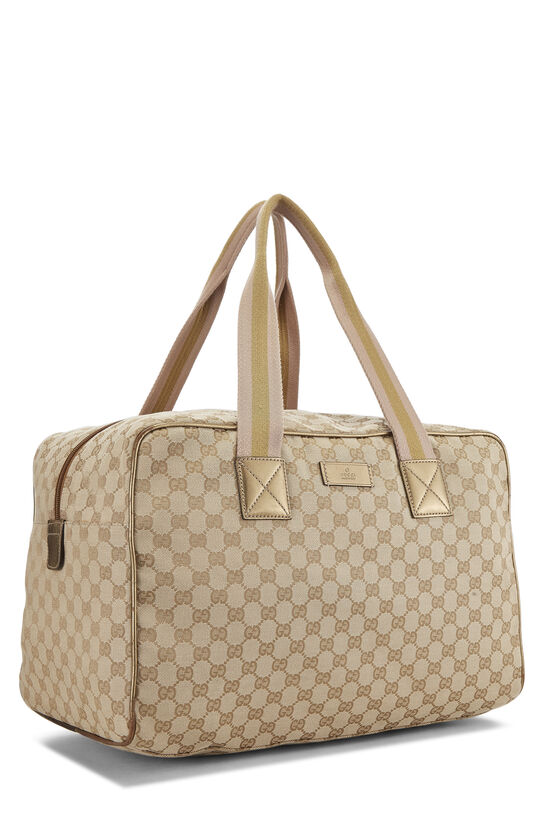 Original GG Canvas Carry On Duffle Large, , large image number 1