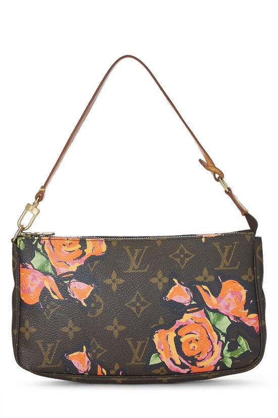 Stephen Sprouse x Louis Vuitton Monogram Roses Pochette Accessoires, , large image number 0