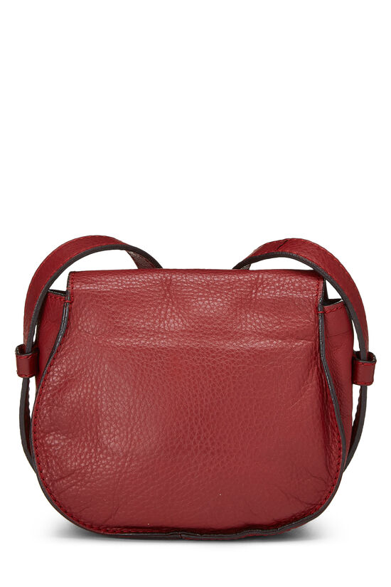 Red Leather Marcie Crossbody Mini, , large image number 3