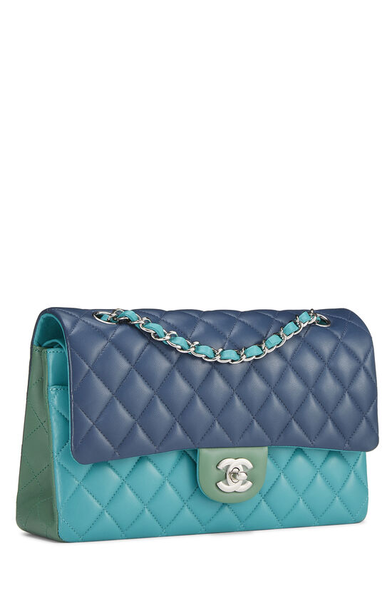 Multicolor Quilted Lambskin Classic Double Flap Medium, , large image number 1