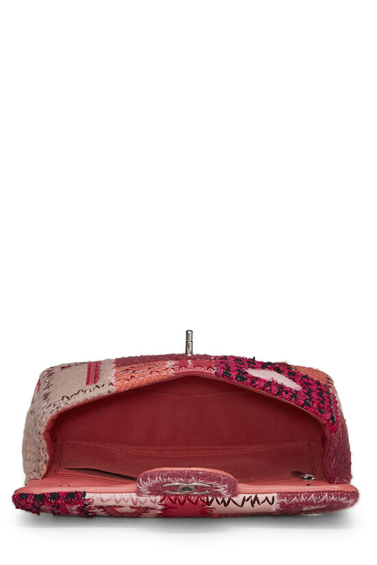 Pink Patchwork Half Flap Medium, , large image number 5