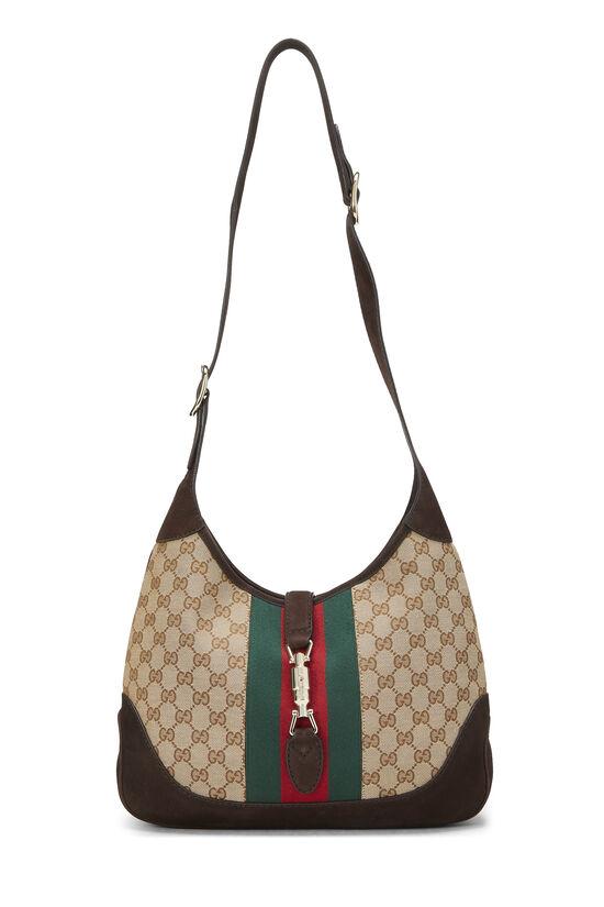 Original GG Canvas Jackie Shoulder Bag, , large image number 6