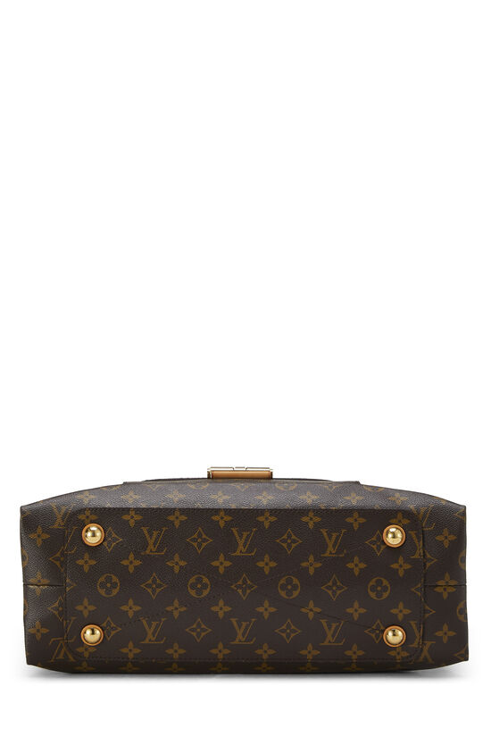 Red Monogram Canvas Olympe, , large image number 4