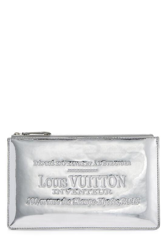 Silver Miroir Pochette Pratt, , large image number 0