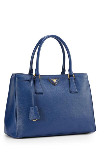 Blue Saffiano Executive Tote Large, , large