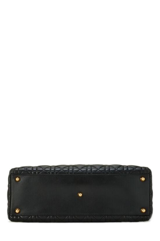 Black Cannage Lambskin Lady Dior Large, , large image number 5