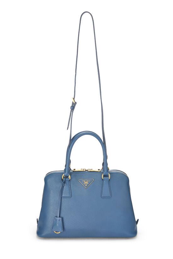 Blue Saffiano Promenade Medium, , large image number 6