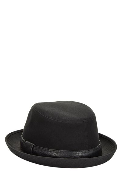 Black Cotton Funky Hat, , large