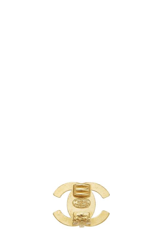 Gold 'CC' Turnlock Earrings Medium, , large image number 1