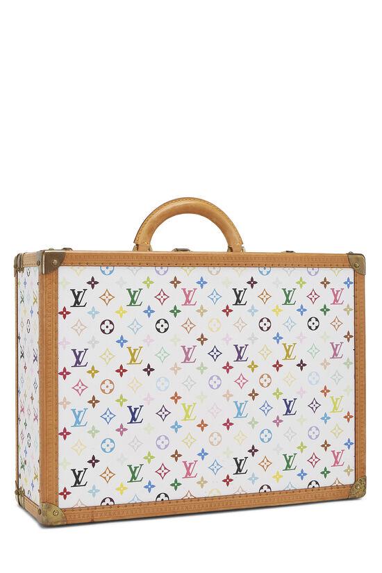 Takashi Murakami x Louis Vuitton White Monogram Multicolore Bisten 50, , large image number 1