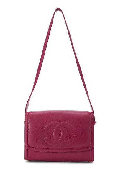 Pink Caviar 'CC' Messenger Bag, , large