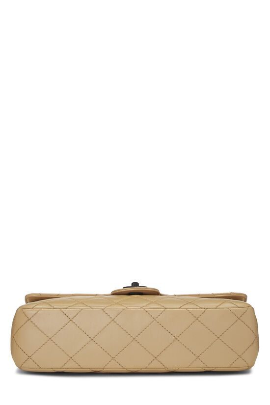 Beige Quilted Lambskin Classic Flap Medium, , large image number 5