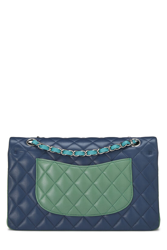 Multicolor Quilted Lambskin Classic Double Flap Medium, , large image number 3