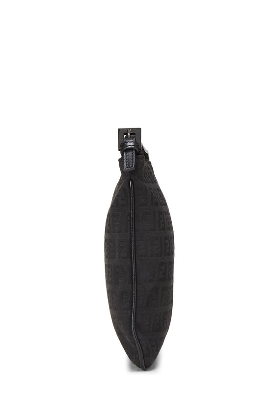 Black Zucchino Canvas Shoulder Bag Small, , large image number 2