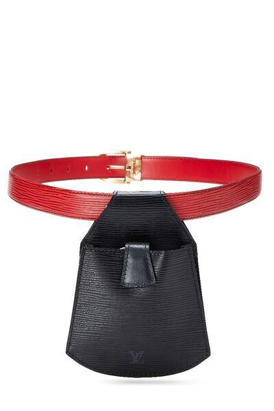 Black & Red Two-Tone Epi Tilsitt