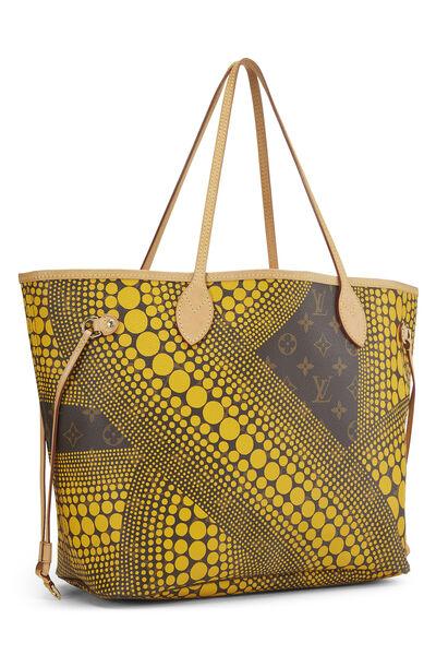 Yayoi Kusama x Louis Vuitton Yellow Monogram Dots Infinity Neverfull MM, , large
