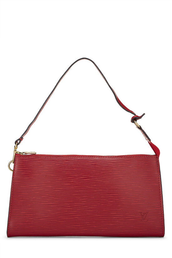 Red Epi Pochette Accessoires, , large image number 0