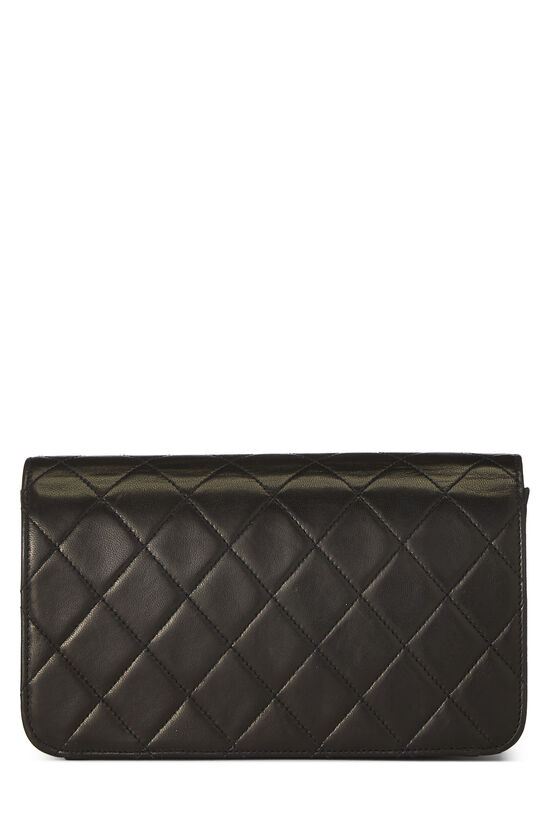 Black Quilted Lambskin Full Flap Mini, , large image number 3