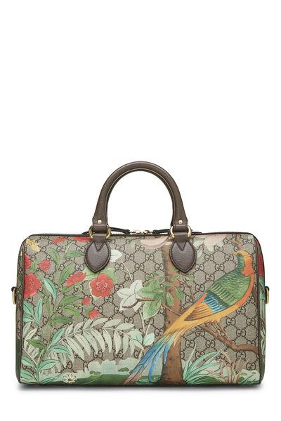 Original GG Supreme Canvas Tian Boston Bag