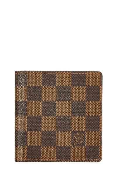 Damier Ebene 6 Cartes Credit Bi-Fold Wallet