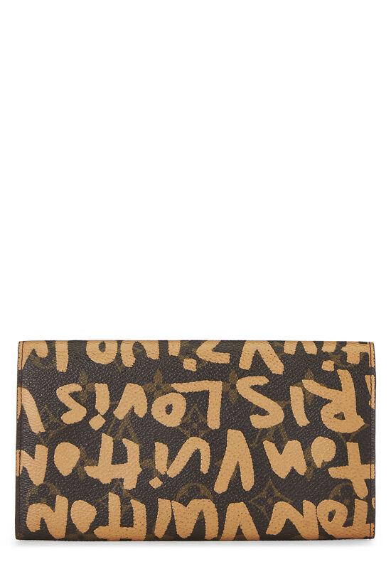 Stephen Sprouse x Louis Vuitton Beige Monogram Graffiti Sarah, , large image number 2